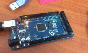 Arduino Mega Keyes DFU Pins